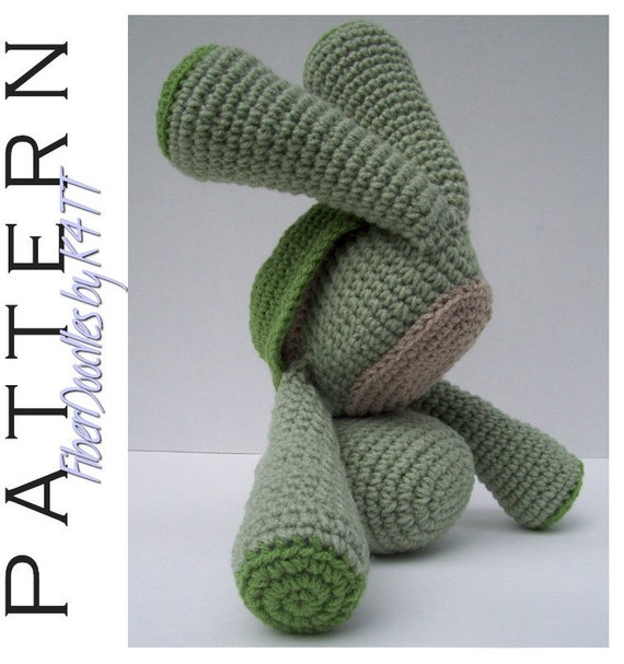 INSTANT DOWNLOAD : KISS Series - Turtle Crochet Pattern