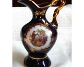 Beautiful Little Porcelain Limoges Picture Vase