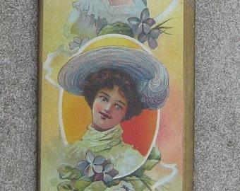 Fabulous Victorian Morris n Yeomans Hat Pin Display Holder