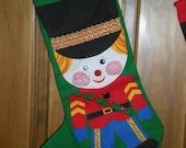 Nutcracker Christmas Stocking 1 of set of 4