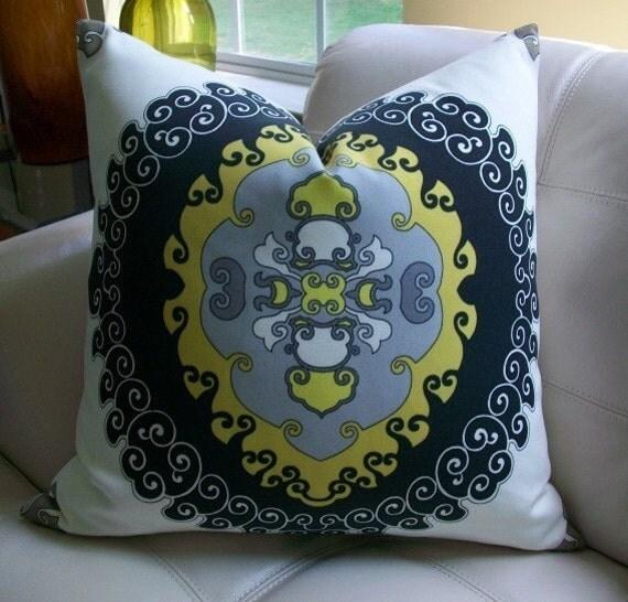 Decorative Pillows Trina Turk : NEW DECORATIVE DESIGNER PILLOW COVER 22X22 TRINA TURK