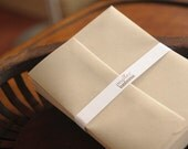 A7 or A2 light kraft envelope / square flap / 100% recycled paper, eco-friendly, great for craft projects, wedding and parties