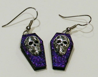 Skull earrings - Reduced price