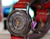 vintage look steampunk base BRASS  RETORO  handmade watches