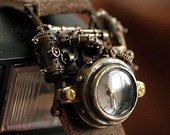 handmade watch MECHTOPIA2   for  steampunk lover
