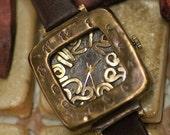 KID-A steampunk vintage handmade watch
