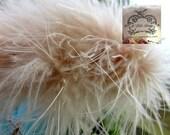 Marabou Boa Feathers Honey Beige