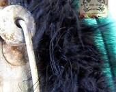 Marabou Boa Feathers Black