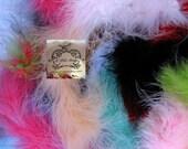 Bits N Pieces Grab Bag Remnants {Maraboa Boa Feathers}
