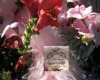 Candy Pink Marabou Boa Feathers