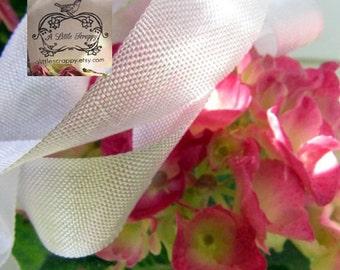 Rayon Seam Binding Ribbon Silver