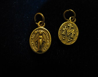 Bronze Medal of Our Lady pendant for religious jewelry, rosary,necklace,bracelet