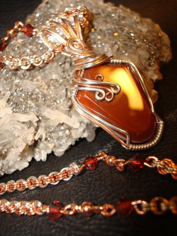 SALE Minnesota Lake Superior Agate Necklace