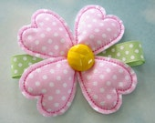 Embroidery Flower - Four Leaf Clover for Machine Embroidery - In-The-Hoop - three sizes