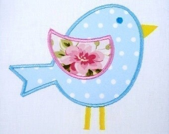 Bird - Chick Applique Machine Embroidery 4x4 and 5x7