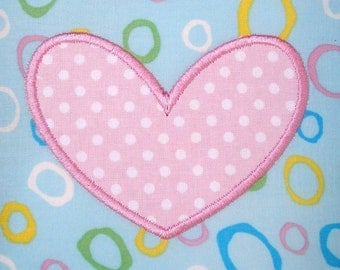 Small Heart & Butterfly Machine Embroidery Appliques 2.5x2.5 4x4