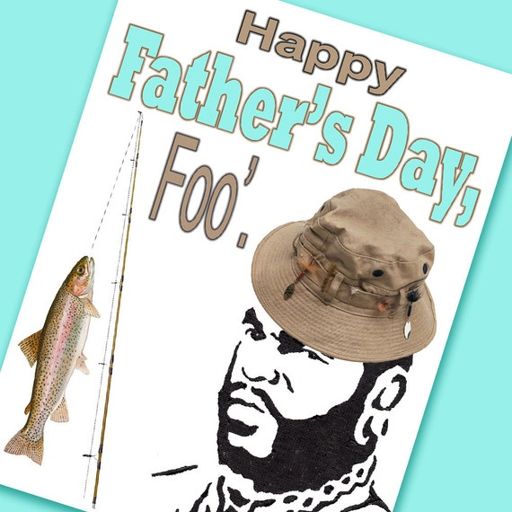 Items similar to mr t father 39 s day card happy father 39 s for Father s day fishing card
