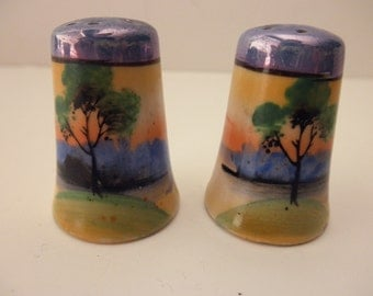 Pair of vintage Salt and Pepper Shakers -made in Japan