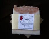 Sweet Jasmine Handmade Soap with Calendula Extract and Shea Butter