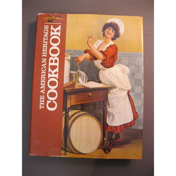 SALE - vintage book - The American Heritage Cookbook - 1980