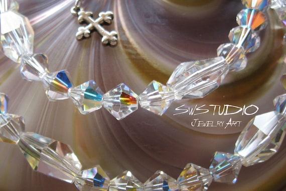 Crystal Shimmer Neckace- Extendable