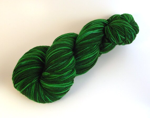 Slyther In Arctic Fox Fingering Sock Wool Hand Dyed Yarn
