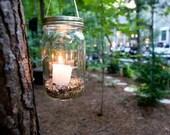 Upcycle Hanging Mason Jar Lantern for Anastasia