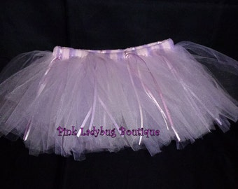 Baby Girl TuTu Lavender and Light Pink Infant Girl Tutu - Ready to Ship