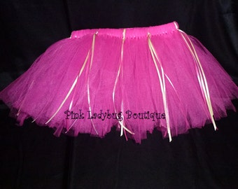 Little Girls TuTu in Hot Pink is Ready to Ship