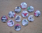 Italian Art Pins - Set of 12