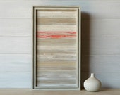 Wood Sculpture Wall Art, Distressed,15 x 9, Made to Order