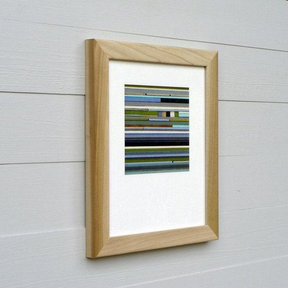 Framed 8 x 10 Giclee Print, Sea Glass Series