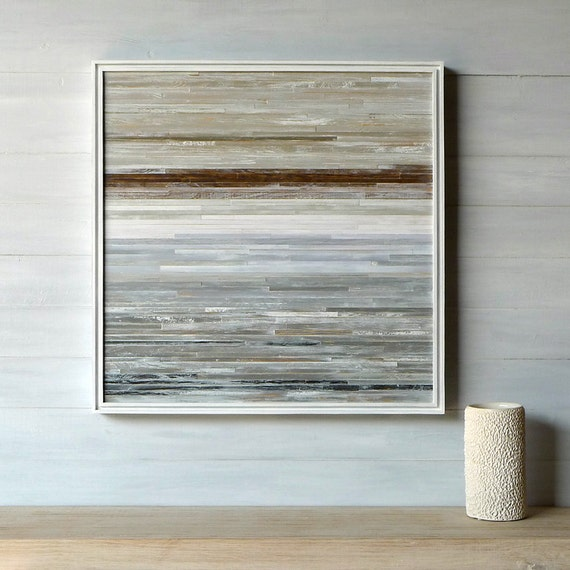 Modern Rustic Wall Decor : Items similar to modern rustic wood wall art