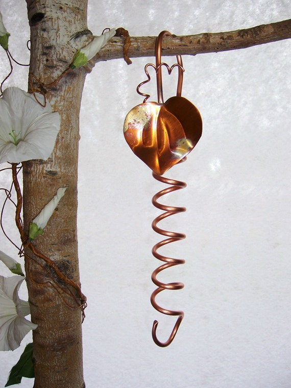 Hook Extender Copper Spiral 12 inches