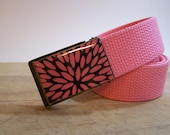 Pink Blast (Ready to Ship) shown on pink strap