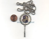 Harry Potter Inspired - Hufflepuff Crest - Bottle Cap Necklace / Pendant / Charm / Jewelry - FREE SHIPPING