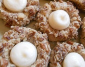 Vanilla Cream Thumbprint Cookies