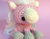 Amigurumi pattern Phoebe, the little pony INSTANT DOWNLOAD
