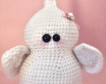 Amigurumi pattern - Willow the cute ghost - INSTANT DOWNLOAD