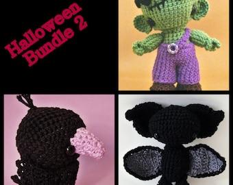 Amigurumi patterns - Halloween Bundle 2