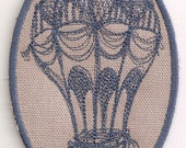 Embroidered Patch, Hot Air Balloon