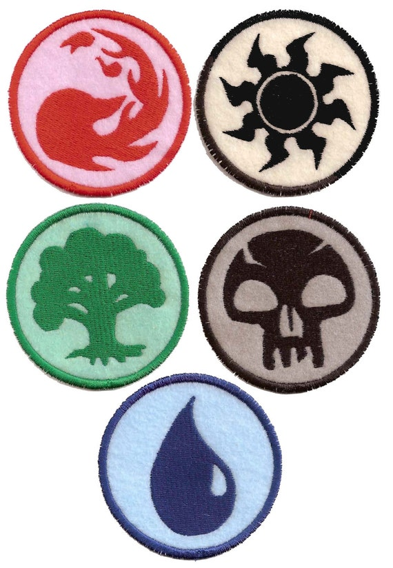 RESERVED for Etsy user doctorsuikotsu :Magic the Gathering Blue Mana Patch