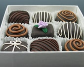 Faux Gourmet Chocolates - Box of 9