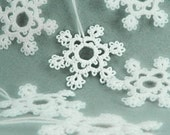 6 Snowflake Ornaments Christmas Tree Decoration