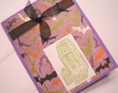Halloween Card - Bats