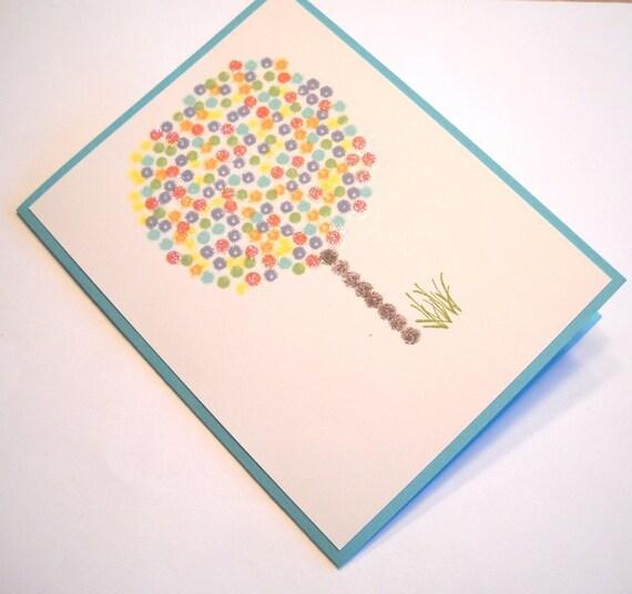 Easter Card - Springtime Tree