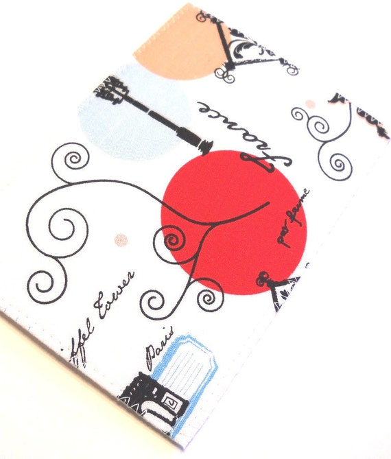 Fabric Postcard - Paris
