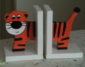 Tiger Bookends
