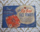 "Vintage Face Powder Sample ""Teezem Brown"""