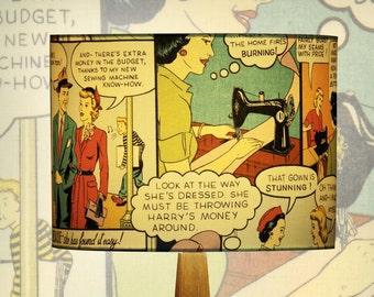 Lamp shade Comics